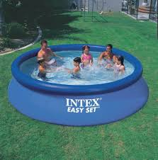 Contemporary Intex Above Ground Pool 4 With Decorating Ideas