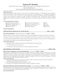 Sample Resume Logistics