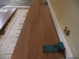 this is three rows installed of lamton santa maria 12mm laminate flooring