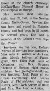 Effie Warren - Newspapers.com