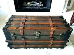 luggage chest trunks luggage style furniture medium size of side table steamer trunk coffee beautiful decorative