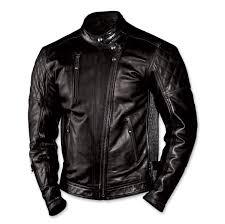roland sands design men s clash black leather jacket