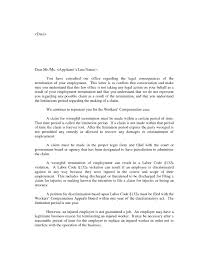 How To Write A Termination Letter To An Employer Wrongful Termination Letter To Employer ingyenoltoztetosjatekok 51