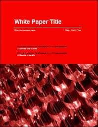 Free White Paper Template Guidelines For Writing White Papers