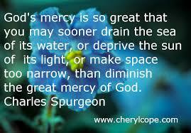 God's Mercy Quotes