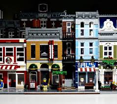 lego office building. Its-not-lego.blogspot.com, Lepin 15011 Detectives Office Lego Building