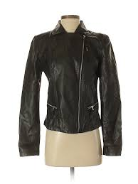 pin it marc by marc jacobs women faux leather jacket size s