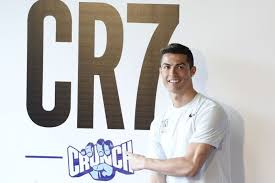 ronaldo at the launch cr7 crunch fitness