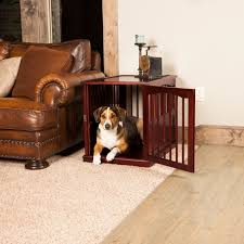 furniture style dog crate. In Fact, Many Innovative Crate Designs Resemble Coffee Tables, Nightstands, And Even Sculptural Works Of Art. Furniture Style Dog