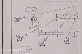 Super Mario Bros Was Originally Designed Using Graph Paper Irish