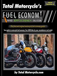 Fuel Economy Chart Canada Total Motorcycle Fuel Economy Guide In Mpg And L 100km