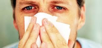 التهابات الجيوب الانفية المتكررة وتضخم فى الغضاريف وانحراف الحاجز الانفى