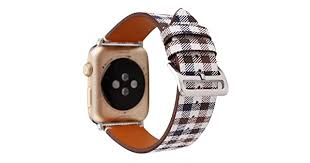 MeShow TCSHOW 38mm 40mm Tartan Plaid Style Replacement Strap Wrist Band  with Metal Adapter Compatible for Apple Watch Series 4 3 2 1(Not fit for  iWatch 42mm/44mm) DG-6PF8-2XYX: Buy Online at Best