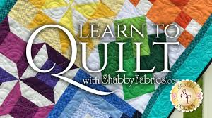Learn To Quilt Series   With Shabby Fabrics - YouTube & Learn To Quilt Series   With Shabby Fabrics Adamdwight.com