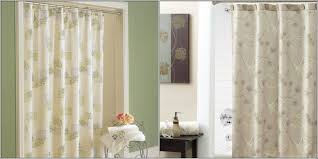 The first is a rain shower curtain with an elegant foliage pattern printed  over it. It will cost you $39.99. The second one in brownish grey colour  also has ...