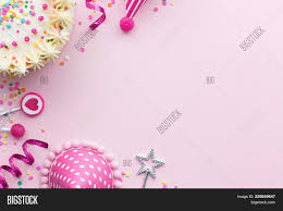 Pink Birthday Party Powerpoint Template Pink Birthday Party