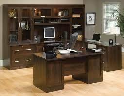 latest office furniture designs. Cappuccino Long Computer Desk To Latest Office Furniture Designs