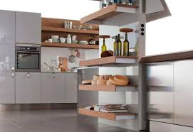 Small Picture Stylish Wall Mounted Kitchen Shelves Home Design Ideas