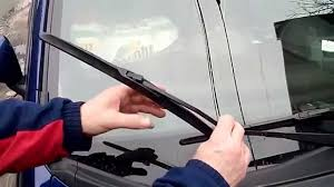 How To replace Honda Fit windshield wiper blades - YouTube