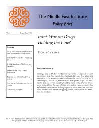 s war on drugs holding the line middle east institute s war on drugs holding the