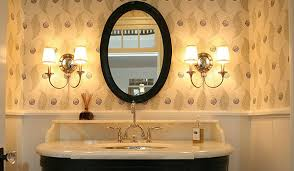 oval bathroom mirrors brushed nickel and oval bathroom mirrors on