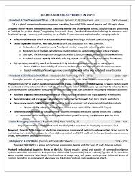 Executive Resume Sample Chief Executive Officer Executive Resume Fascinating Private Equity Resume