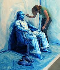 Real People Turned into Still Life Paintings | - I still don't believe these