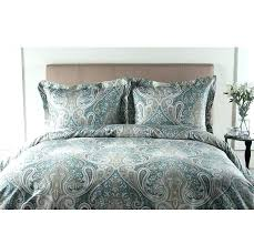 target white duvet cover twin xl aqua and gold bedding blue green set paisley