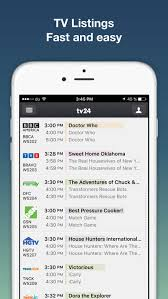 tv listings. tv listings by tv24 - guide tv