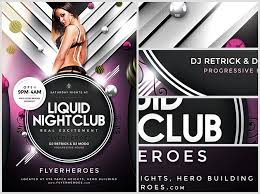 club flyer templates nightclub flyer templates 20 new free club flyer templates website