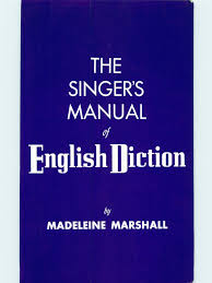 Let us know what's wrong with this preview of international phonetic alphabet for singers by joan wall. Marshall The Singer S Manual Of English Diction Pdf