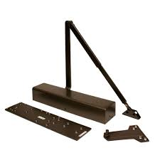 Heavy-Duty Bronze Fits All Commercial Door Closer