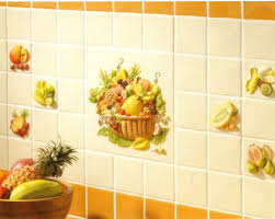 kitchen tiles with fruit design. kitchen tiles fruit design with - home ideas o