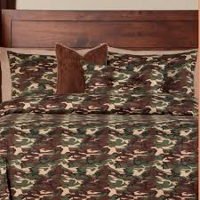Camo Bed Sets – Galaxy Camo Bed Cap Comforter Set with Sham & Toss Pillows