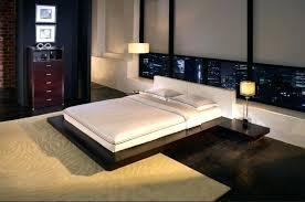 white leather platform bed white leather platform bed king