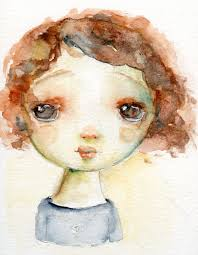 i have a new watercolor girl offering that includes a 9 page pdf with step by step instructions for how to draw and then watercolor a sweet girl