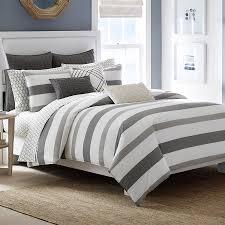 Nautica Bedroom Furniture Nautica Chatfield Comforter Duvet Set Beddingstyle Stripes