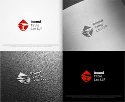 logo design by rideaz for round table law llp design 15281327