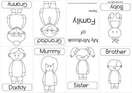 Family Coloring Book Google Search Sunday School Preschool