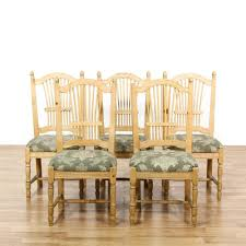 solid wood dining room table lovely set 5 carved light pine dining chairs of solid wood
