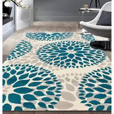 wrought studio wallner teal blue area rug reviews wayfair with rugs designs 12