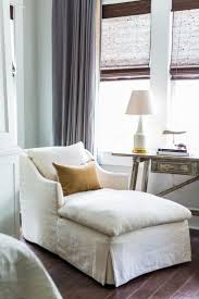 Camille Styles Home Tours - Marie's Timeless Craftsman Home - Marie  Flanigan Interiors - linen chaise