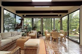 sun room furniture. sun room with view of forest furniture s
