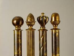 brass curtain rods. Curtain Extraordinary Brass Pole 13 Winsome 29 Poles With Golden Finishing Recess Brackets Rods