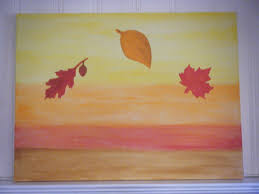 Fall Canvas Painting Ideas 2017 With Simple Pictures