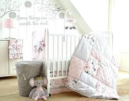 pink and gold bedding pink and gold nursery bedding baby grey and pink fl 5 piece