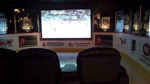 Pittsburgh Penguins Bedroom Decor Hockey Theme Media Room Youtube