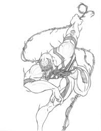 Small Picture Anti Venom Coloring Pages