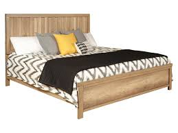 Barnwood Casual Queen Low Profile Bed by Samuel Lawrence at Rooms for Less