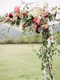 colorful rustic chic crimson wedding wedding archesdiy wedding arch flowersfl
